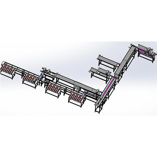 自动化输送带滚筒输送带
